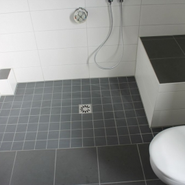 Ebenerdig duschen