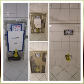 Hänge WC neu