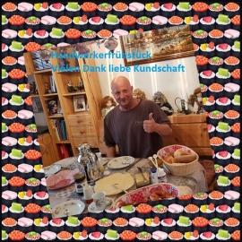 Handwerkerfrühstück, vielen Dank liebe Kundschaft
