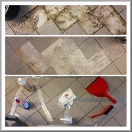 Küchengewerbe Bodenfliesen - Reparatur