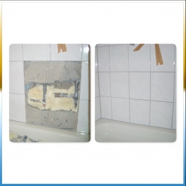 Reparatur Bad Wand