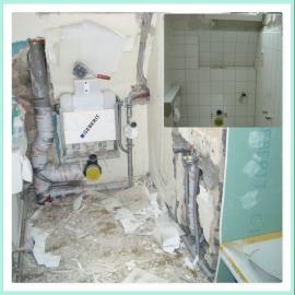 Umbau WC