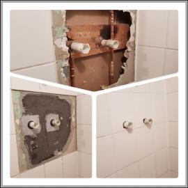 Wasserschaden Duschbereich