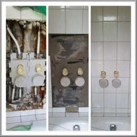 Wasserschaden an Wasseruhren