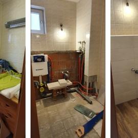 Aus WC mach Dusche & WC 20x50