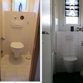 WC vorher nachher Seeger
